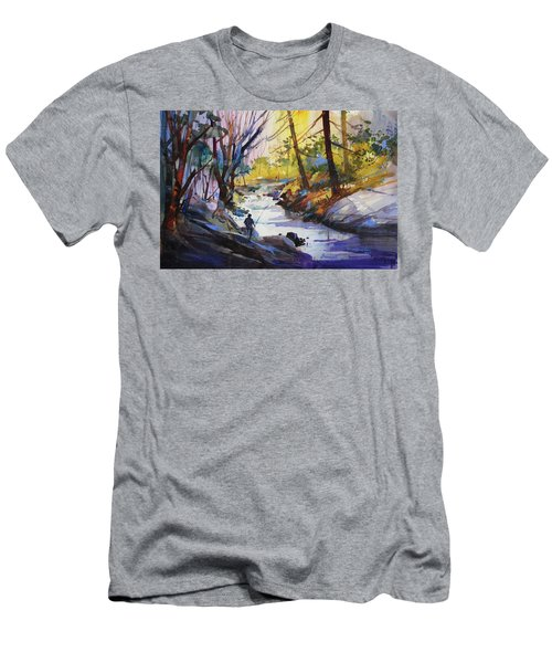 Enchanted Wilderness Men's T-Shirt (Athletic Fit)