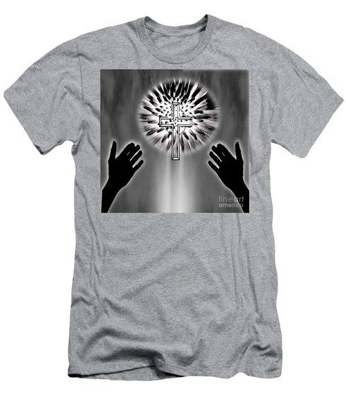 Eternity Men's T-Shirt (Slim Fit) by Belinda Threeths