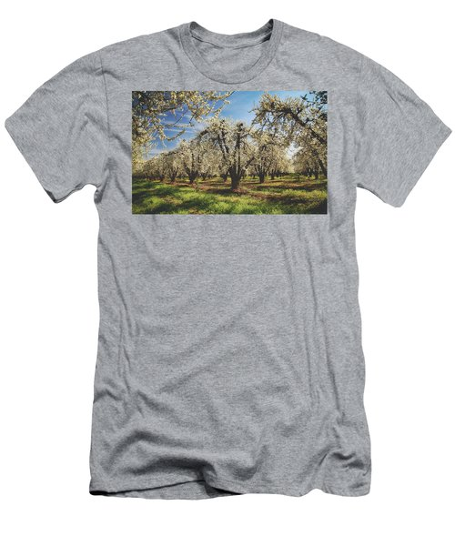 Men's T-Shirt (Slim Fit) featuring the photograph Everything Is New Again by Laurie Search