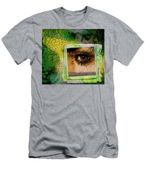 Eye, Me, Mine Men's T-Shirt (Slim Fit)