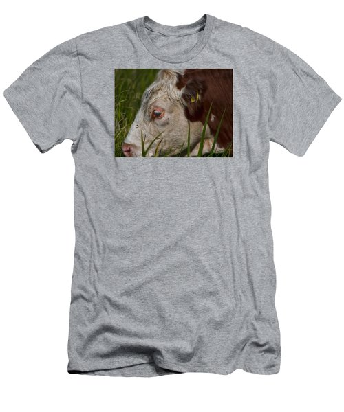 Men's T-Shirt (Slim Fit) featuring the photograph Face by Leif Sohlman