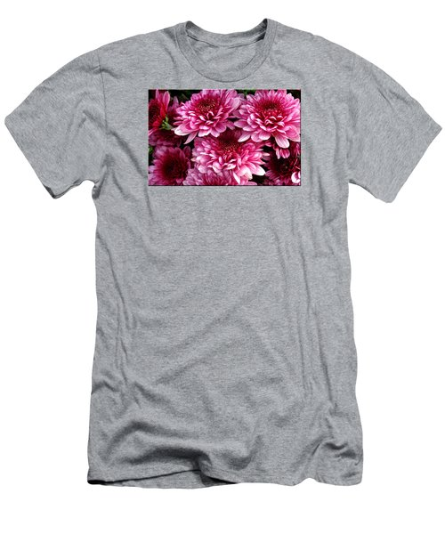 Fall Flowers Men's T-Shirt (Athletic Fit)