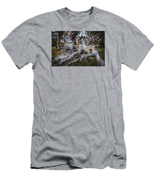 Fallen From Grace Men's T-Shirt (Slim Fit) by Mark Lucey
