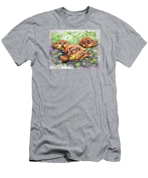 Fish Bowl Men's T-Shirt (Slim Fit) by William Love