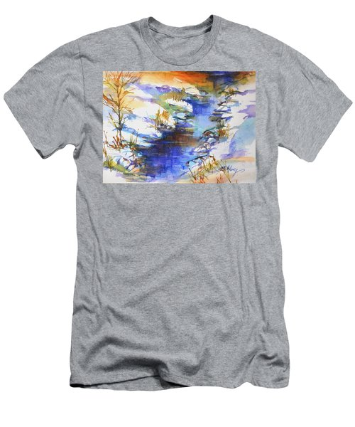 For Love Of Winter #3 Men's T-Shirt (Slim Fit) by Betty M M Wong