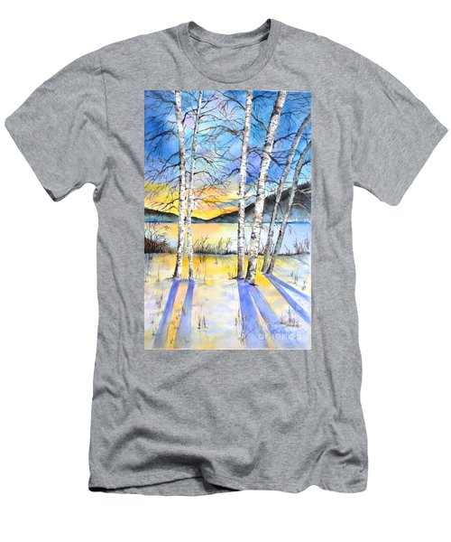 For Love Of Winter #5 Men's T-Shirt (Athletic Fit)
