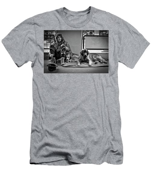 For The Love Of Dog Men's T-Shirt (Athletic Fit)