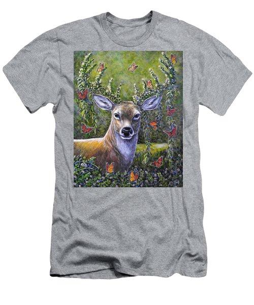 Forest Monarch Men's T-Shirt (Athletic Fit)