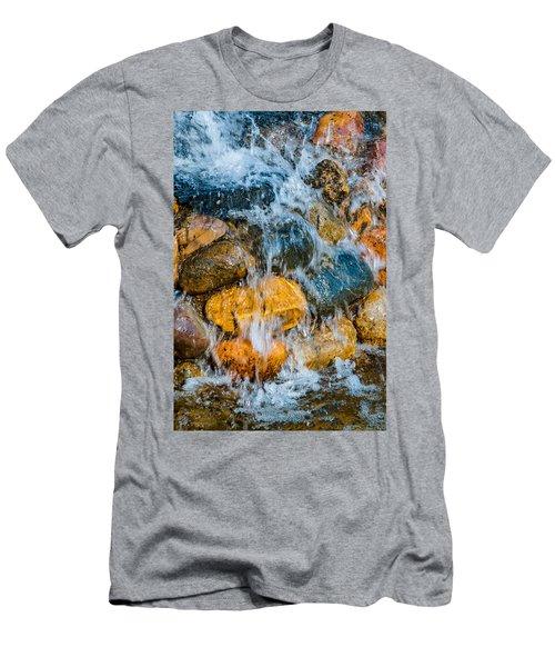 Men's T-Shirt (Slim Fit) featuring the photograph Fresh Water by Alexander Senin