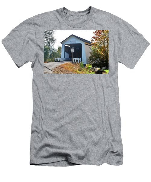 Gallon House Covered Bridge Men's T-Shirt (Athletic Fit)