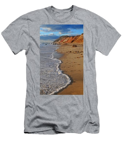 Gayhead Cliffs Marthas Vineyard Men's T-Shirt (Athletic Fit)