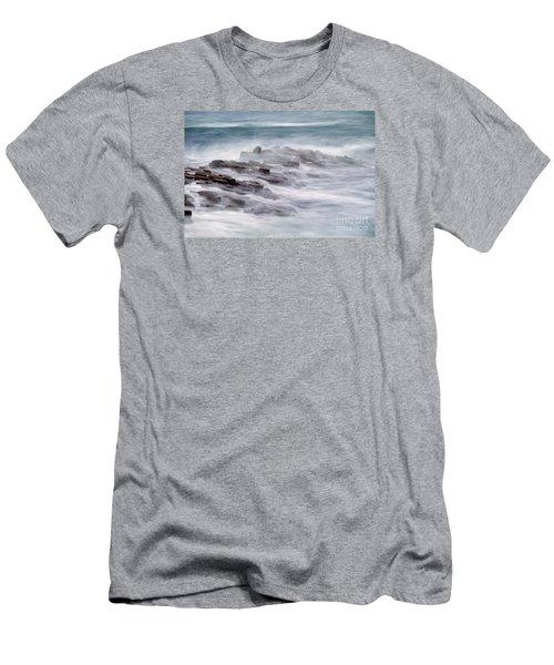 Giants Causeway  Men's T-Shirt (Slim Fit) by Juergen Klust