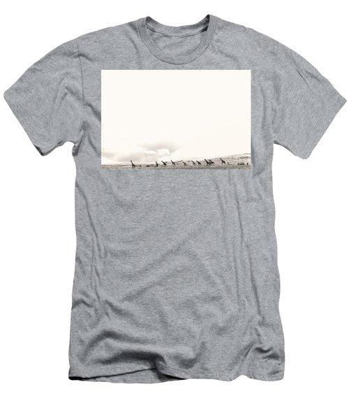 Giraffes Men's T-Shirt (Athletic Fit)