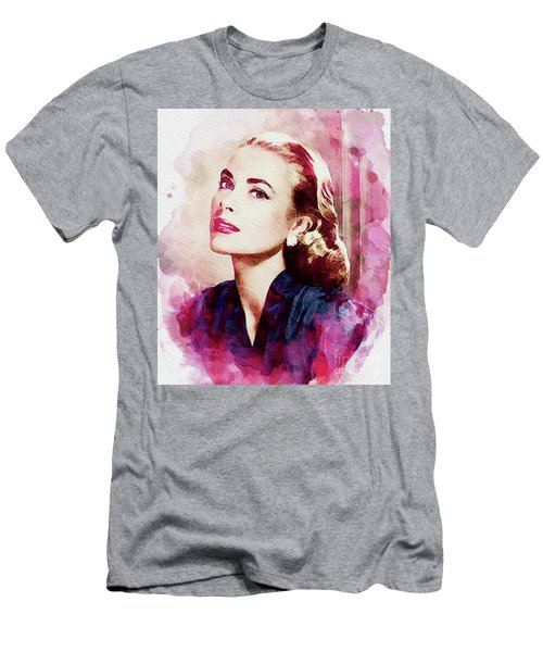 Grace Kelly, Vintage Actress Men's T-Shirt (Athletic Fit)