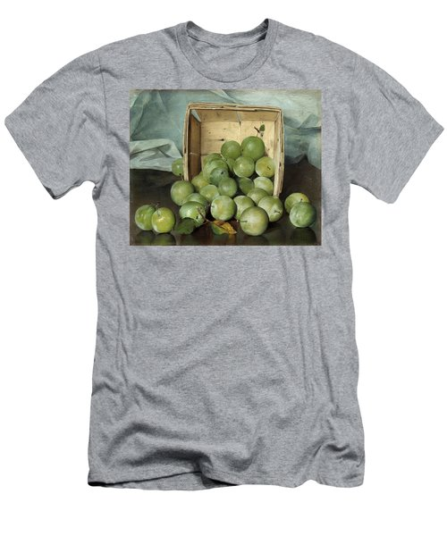 Green Plums Men's T-Shirt (Athletic Fit)