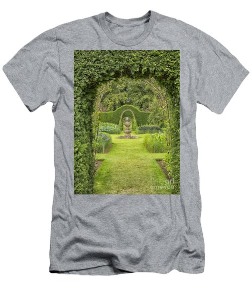 Green Secret Garden Men's T-Shirt (Athletic Fit)
