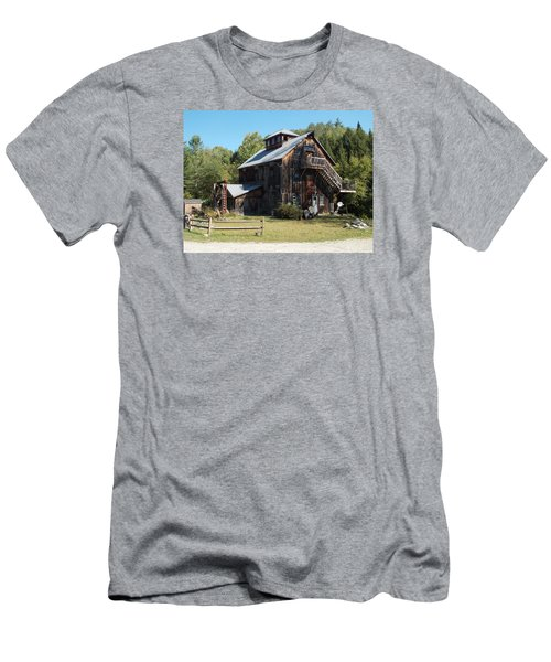 Grist Mill Men's T-Shirt (Slim Fit) by Catherine Gagne