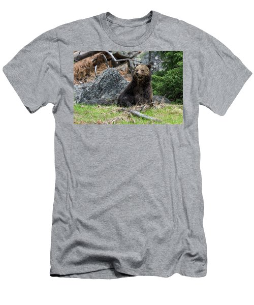 Grizzly Manor Men's T-Shirt (Slim Fit) by Scott Warner
