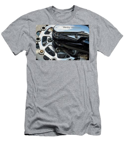 Men's T-Shirt (Athletic Fit) featuring the photograph Harley Davidson 15 by Wendy Wilton