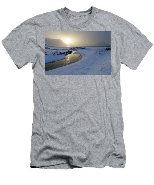 Haukland Beach, Lofoten Men's T-Shirt (Athletic Fit)