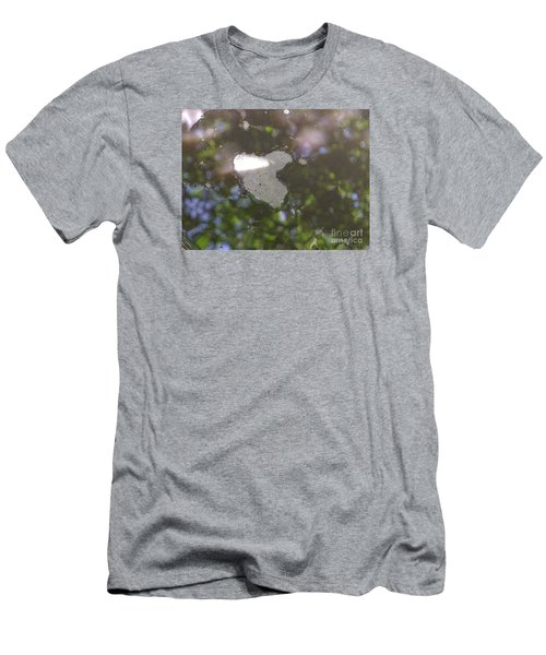 Men's T-Shirt (Slim Fit) featuring the photograph heART bubbles by Nora Boghossian