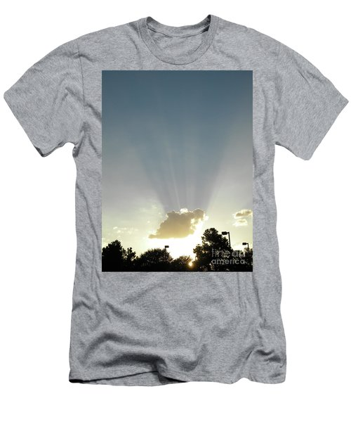 Heavenly Rays Men's T-Shirt (Athletic Fit)