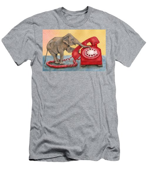 Trunk Call Men's T-Shirt (Athletic Fit)