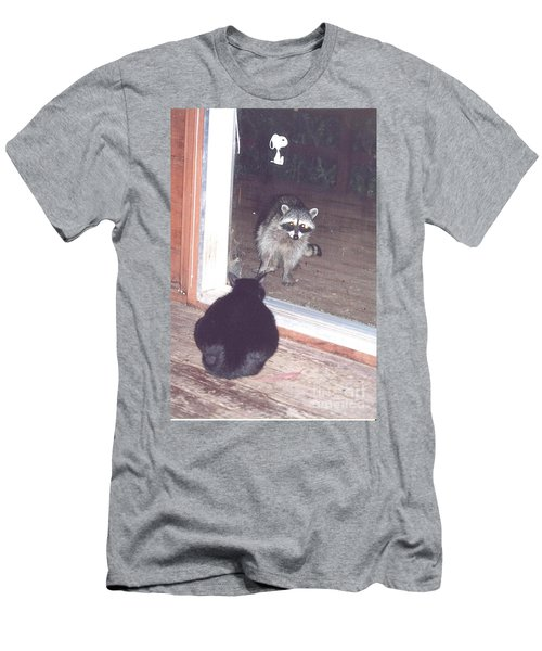 Men's T-Shirt (Athletic Fit) featuring the photograph Hello There by Cynthia Marcopulos