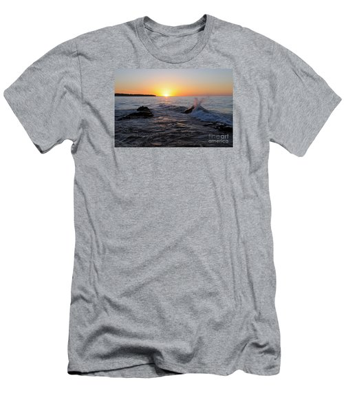Men's T-Shirt (Slim Fit) featuring the photograph Here Comes The Sun by Sandra Updyke