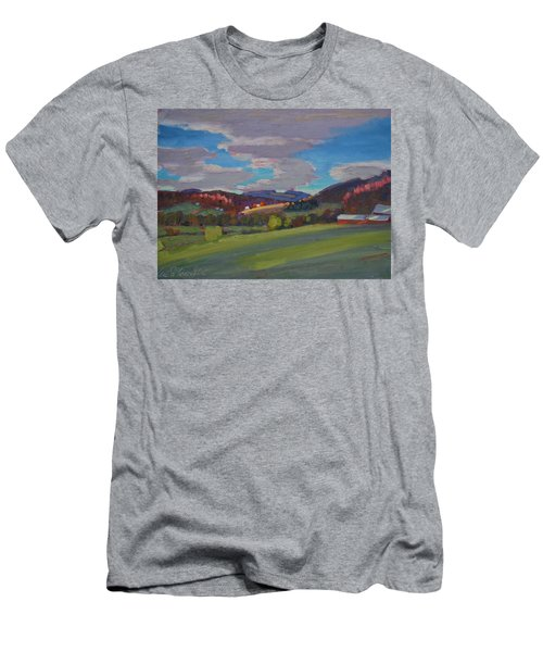 Hills Of Upstate New York Men's T-Shirt (Athletic Fit)