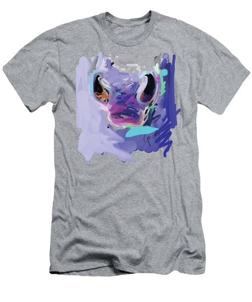 Horse Nose Men's T-Shirt (Athletic Fit)