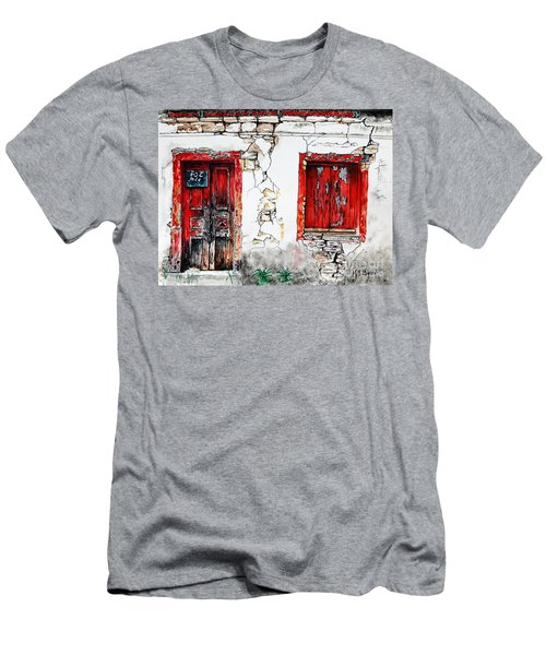 House For Sale Men's T-Shirt (Slim Fit) by Maria Barry