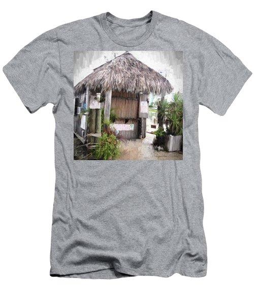 Hut Men's T-Shirt (Athletic Fit)