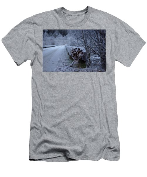 Ice Bridge Men's T-Shirt (Athletic Fit)