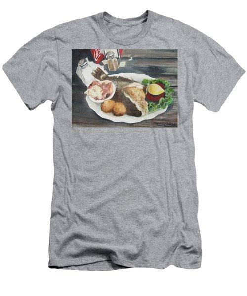 I'm Stuffed Men's T-Shirt (Athletic Fit)