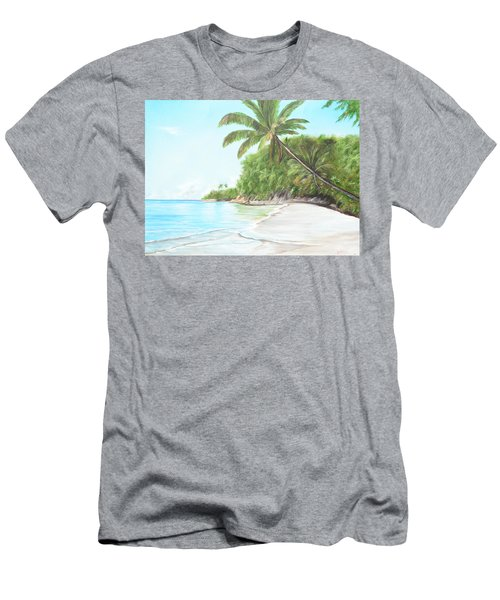 In Paradise Men's T-Shirt (Slim Fit) by Lloyd Dobson