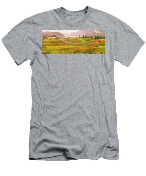 In The Early Morning Rain Men's T-Shirt (Slim Fit) by John Poon