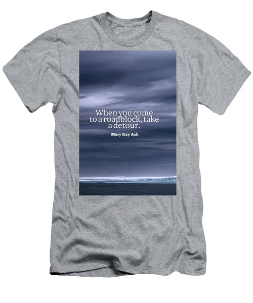 Inspirational Timeless Quotes - Mary Kay Ash Men's T-Shirt (Athletic Fit)