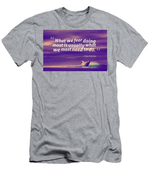 Inspirational Timeless Quotes - Tim Ferriss 2 Men's T-Shirt (Athletic Fit)