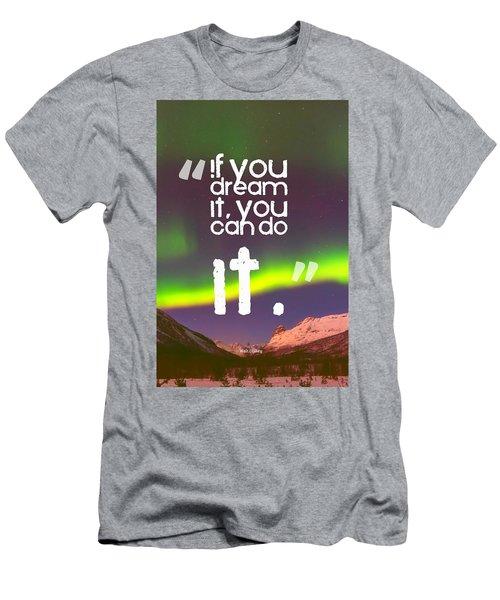 Inspirational Timeless Quotes - Walt Disney Men's T-Shirt (Athletic Fit)