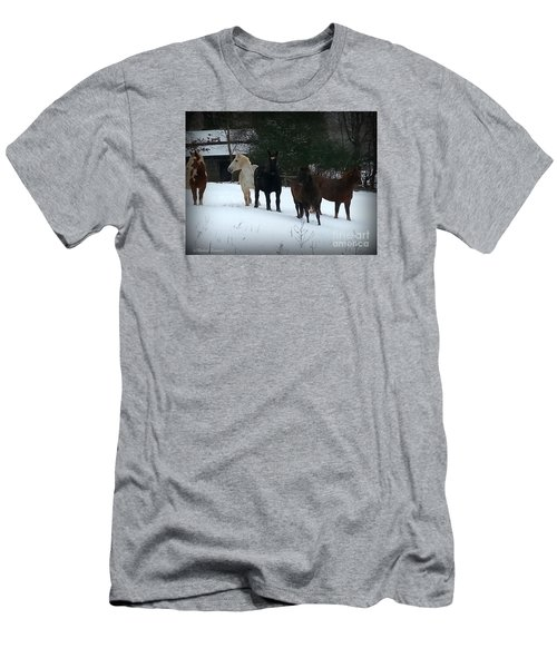 It Snowed Men's T-Shirt (Athletic Fit)