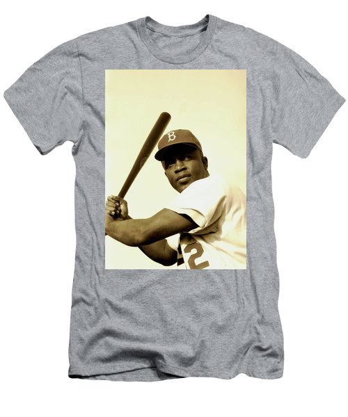 Jackie Robinson 1952 Men's T-Shirt (Athletic Fit)