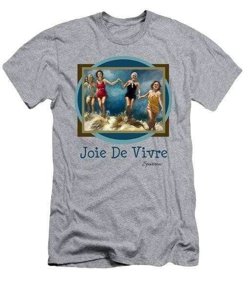 Joie De Vivre Men's T-Shirt (Athletic Fit)