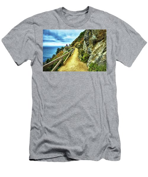 Julia Pfeiffer Burns State Park Men's T-Shirt (Athletic Fit)
