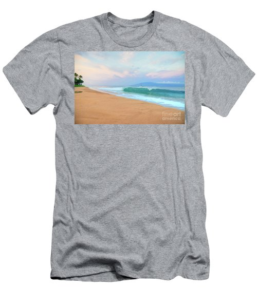 Men's T-Shirt (Slim Fit) featuring the photograph Ka'anapali Waves by Kelly Wade