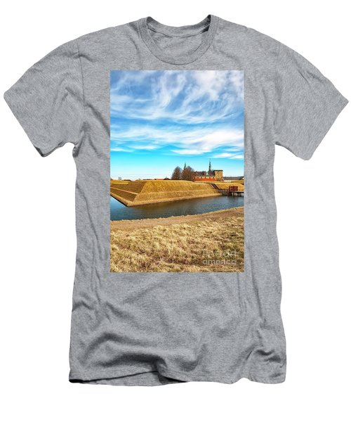 Men's T-Shirt (Slim Fit) featuring the photograph Kronborg Castle In Helsingor by Antony McAulay