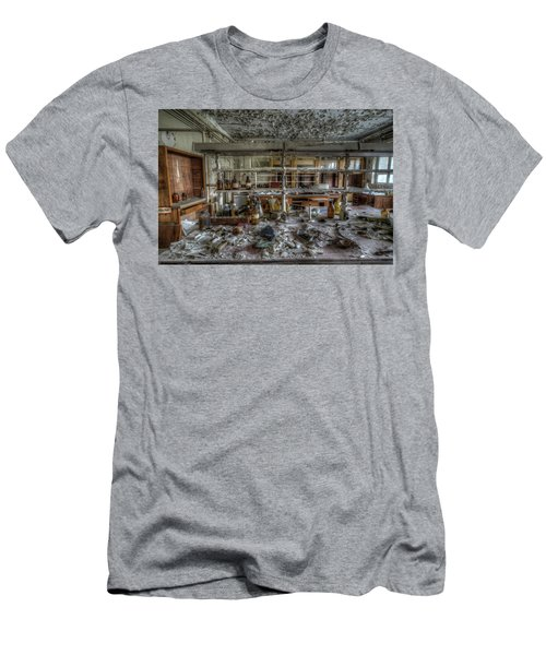 Men's T-Shirt (Slim Fit) featuring the digital art Lab 1 by Nathan Wright