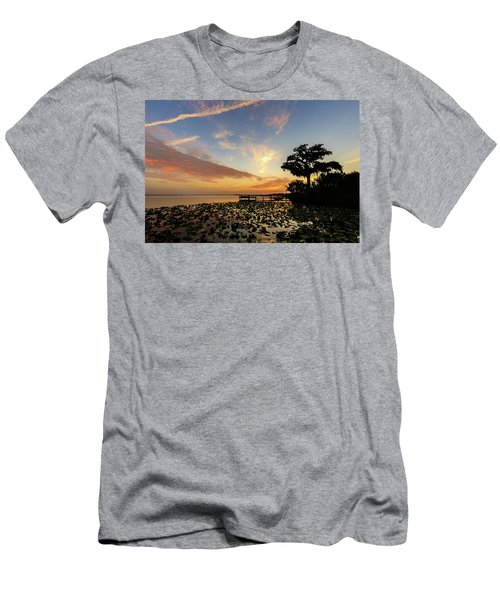 Lake Sunrise Men's T-Shirt (Athletic Fit)