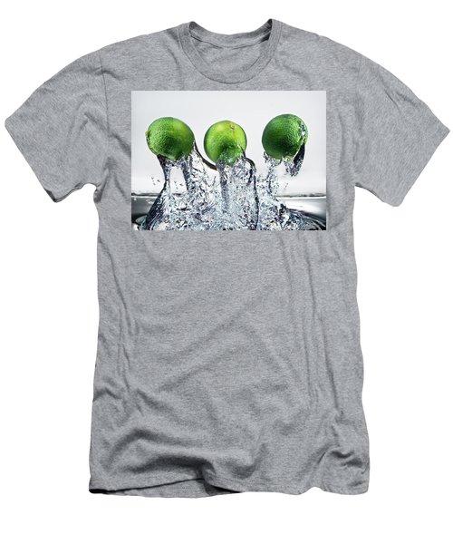 Lime Freshsplash Men's T-Shirt (Athletic Fit)