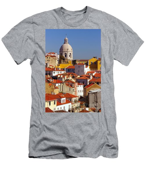Lisbon View Men's T-Shirt (Athletic Fit)